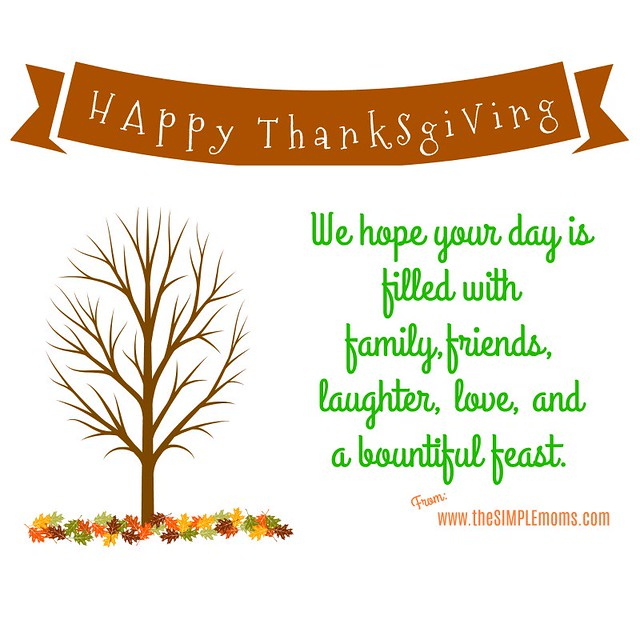 happy thanksgiving 2017 the simple moms