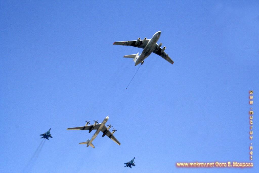 Военный парад 9 мая 2008 г. в Москве — Россия фотографии