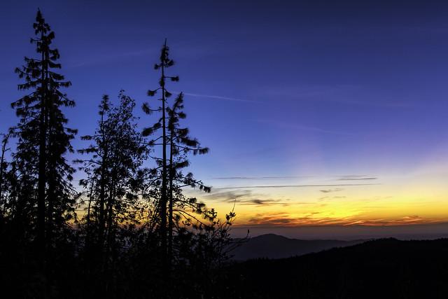 High Sierra Sunset (Explored)