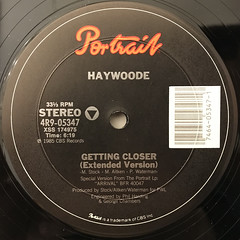 HAYWOODE:GETTING CLOSER(LABEL SIDE-A)