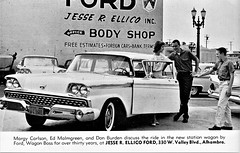1959 Ford Station Wagon at Jesse R. Ellico Ford, Alhambra CA