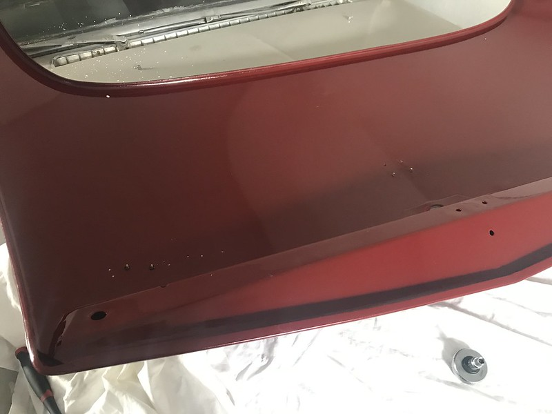 Mounting the badges on the DS