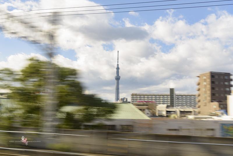 在NEX上看到東京晴空塔