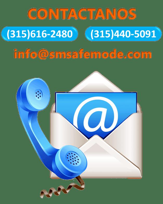 contactanos smsafemode