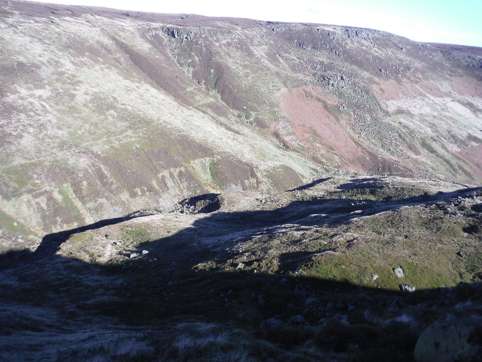 Grindsbrook Clough SWC Walk 304 - Kinder Scout Circuit (from Edale)