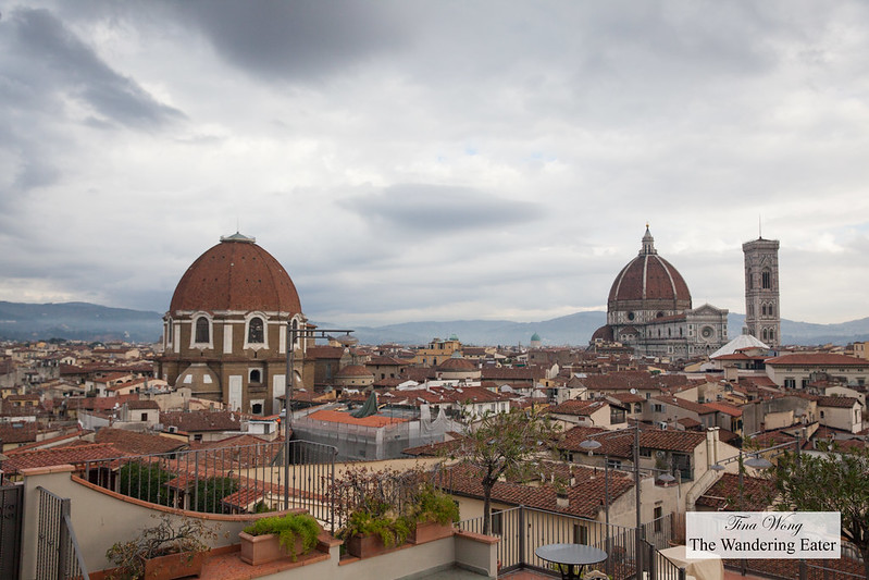 Medici Chapel (left) and Cathedral of Santa Maria del Fiore (right)