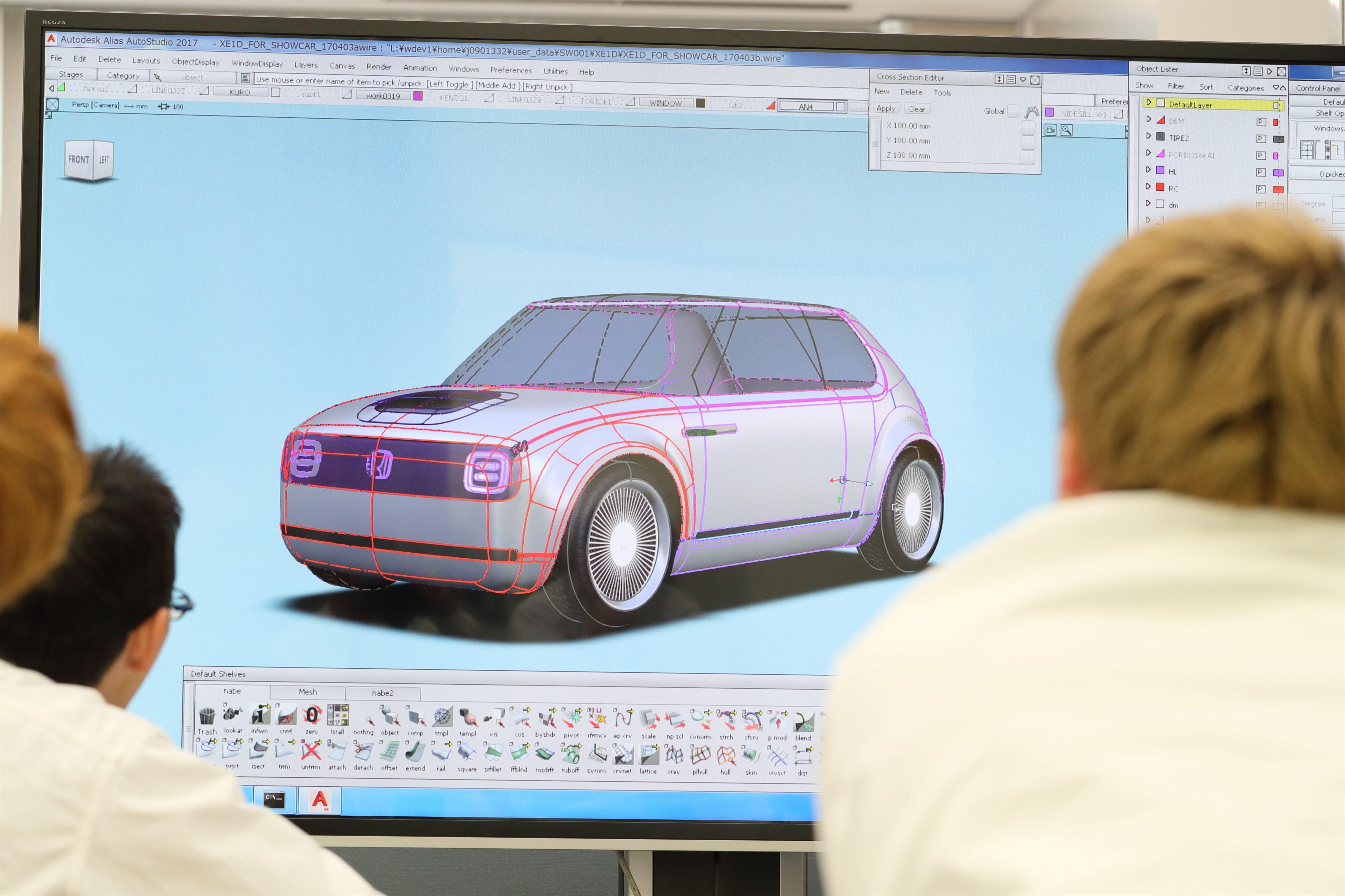 Honda Urban EV Concept - Design Story