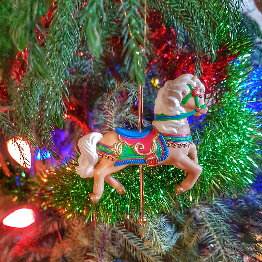 Carousel Christmas Tree Ornament