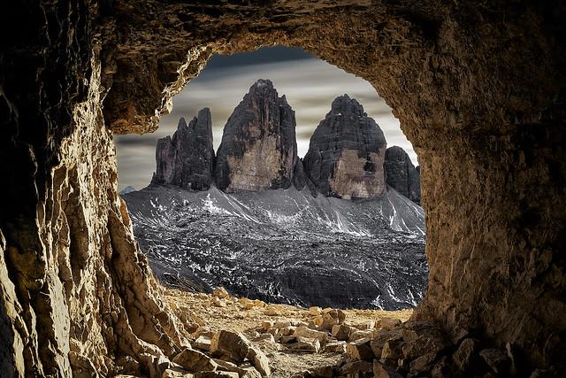 Tre cimes Italie