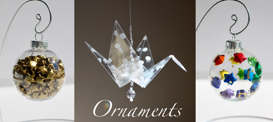 The Timeless Crane Origami Ornaments