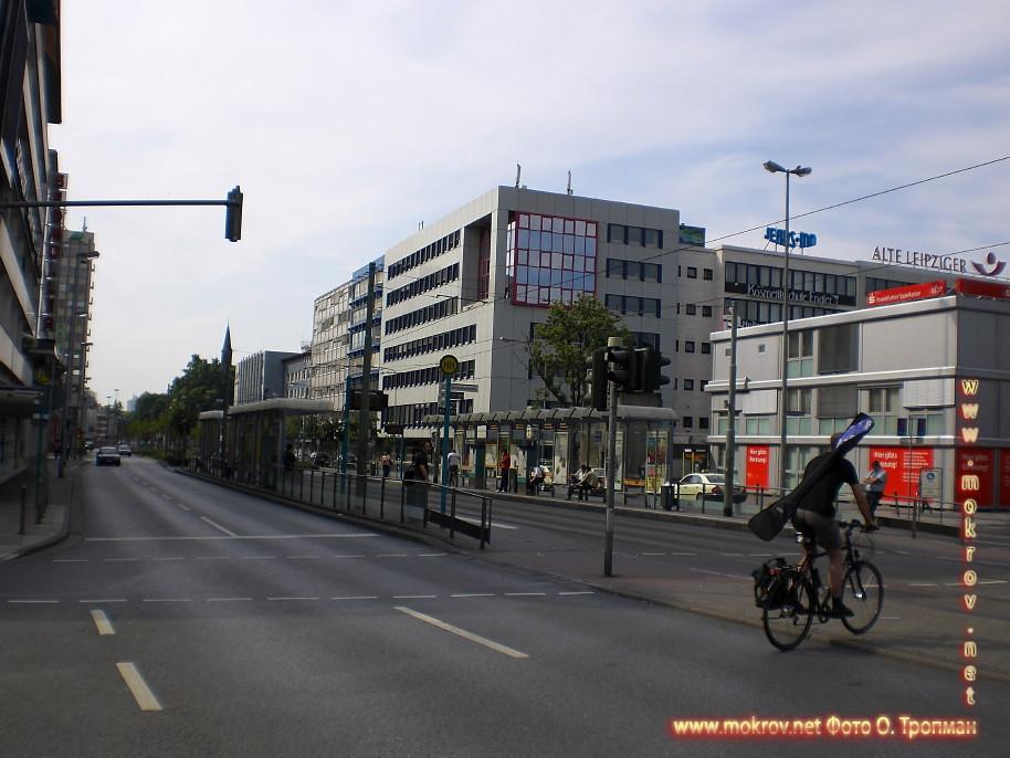 Исторический Города Франкфурт на Майне и фотограф