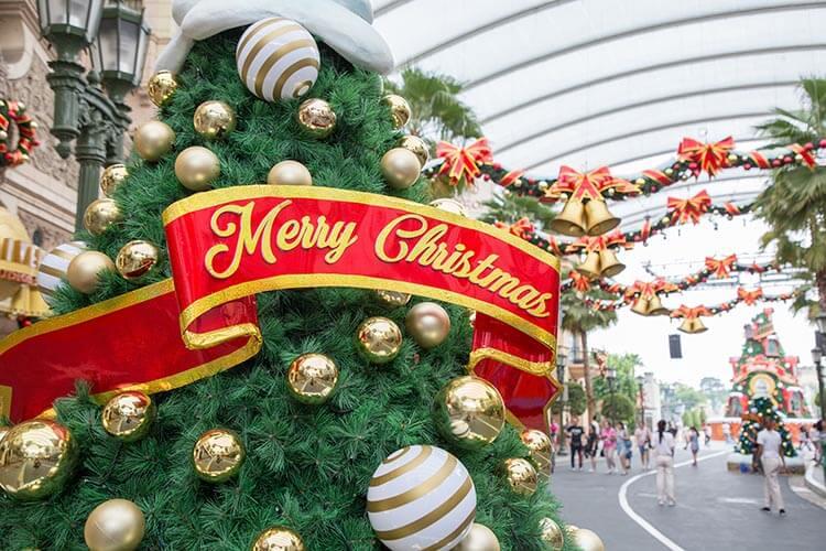 Christmas atmosphere USS