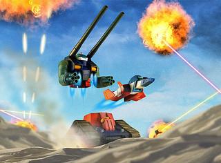 ROBOT魂 〈SIDE MS〉《機動戰士鋼彈》RX-75-4 鋼坦克&核心戰機射出零件 ガンタンク&コア・ファイター射出パーツ ver. A.N.I.M.E.