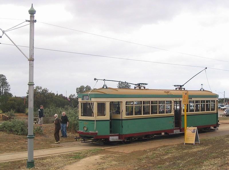 Sydney tram at St Kilda tram museum near Adelaide, 2007
