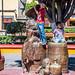 2017 - Mexico - Tequila - Plaza Principal Bronze Sculpture por Ted's photos - For Me & You
