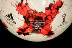 KRASAVA FIFA CONFEDERATIONS CUP RUSSIA 2017 FINAL ADIDAS MATCH BALL, GERMANY VS CHILE 11