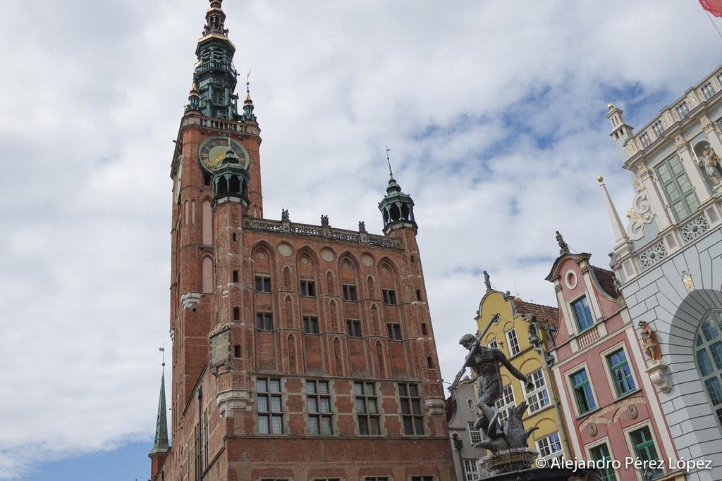 Fontanna Neptuna en Gdansk
