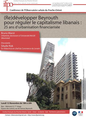 (Re)développer Beyrouth pour réguler le capitalisme libanais : 25 ans d'urbanisation financiarisée