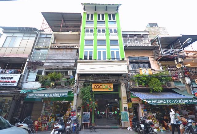 cocoon inn hanoi facade