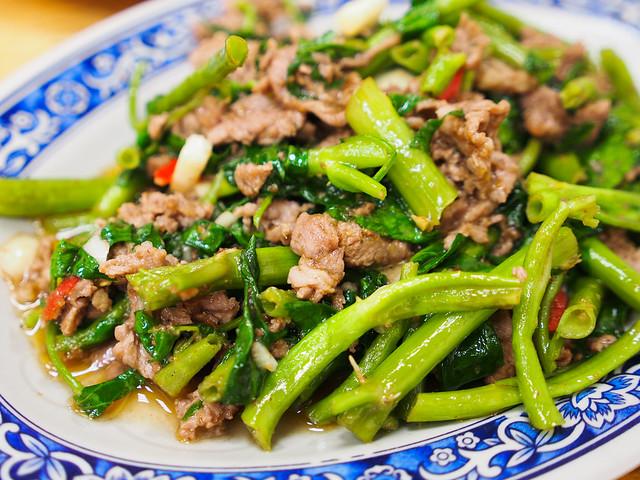 駱記小炒 | 台北通化臨江街夜市-夜市內的美味快炒小吃