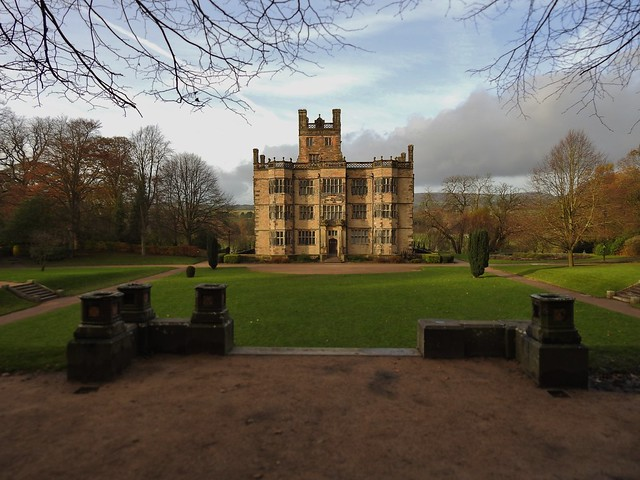 Gawthorpe Hall in Padiham, Lancashire, England - November 2017