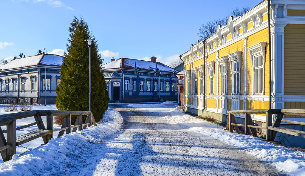 Walking Old Rauma: historic old town on the South-West Coast of Finland
