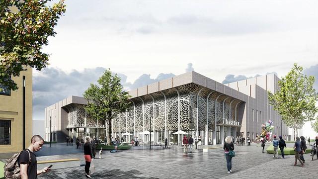 Nieuw Theater Zuidplein En Bibliotheek Nieuwbouw Architectuur