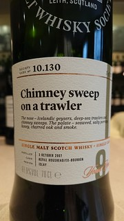 SMWS 10.130 - Chimney sweep on a trawler