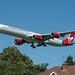 Virgin Atlantic A340 G-VOGE 'Cover Girl'