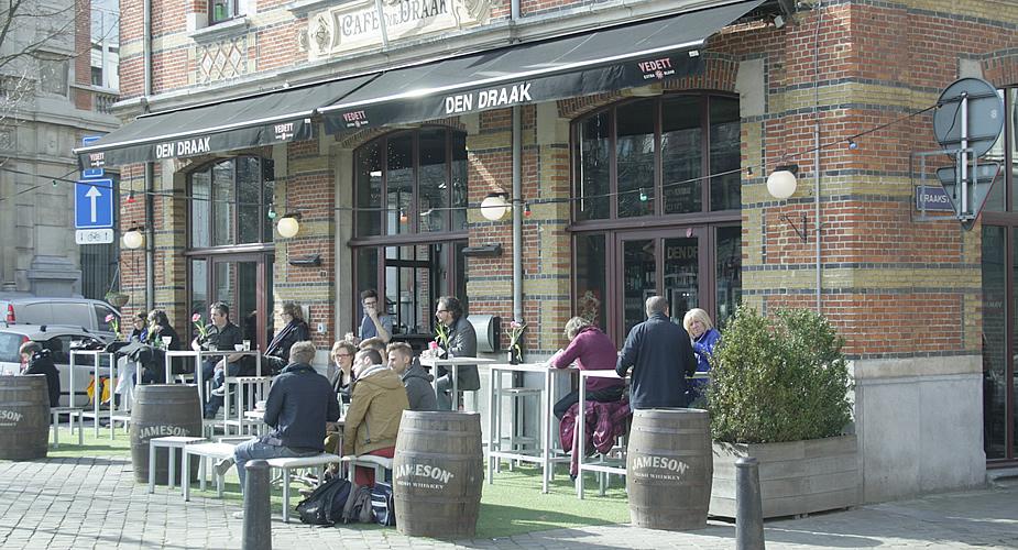 Antwerpen Zurenborg, Den Draak | Mooistestedentrips.nl