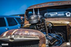 Creative Engine block of the Rat Rod truck