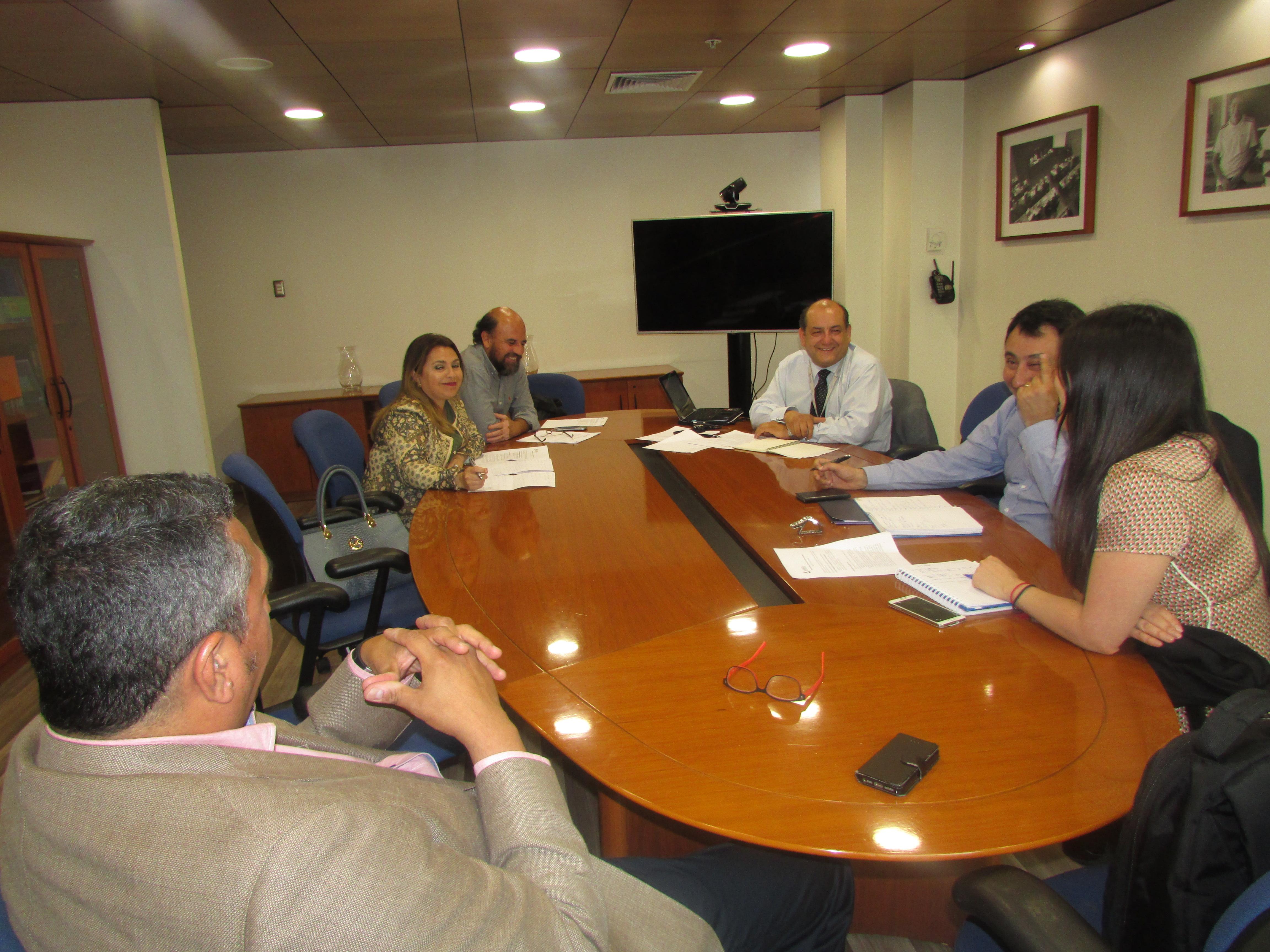 AFUDEP en reunión con autoridades de la DPP por temas gremiales - 08 Noviembre 2017