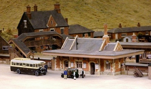 Culham Station - Model