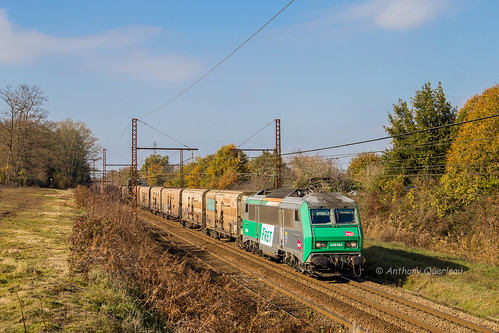 19 novembre 2017 BB 26184 Train 53934 Perpignan -> Rungis St-Loubès (33)