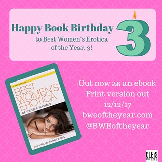 Happy book birthday toBest Women's Erotica of the Year, 3!