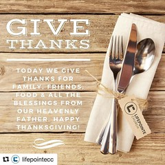 #Repost @lifepointecc (@get_repost) ・・・ Give Thanks! Today we give thanks for family, friends, food & all the blessings from our Heavenly Father. Happy Thanksgiving from Lifepointe Church! . . . . #Thanksgiving #lifepointe #church #fortmill #rockhill #teg