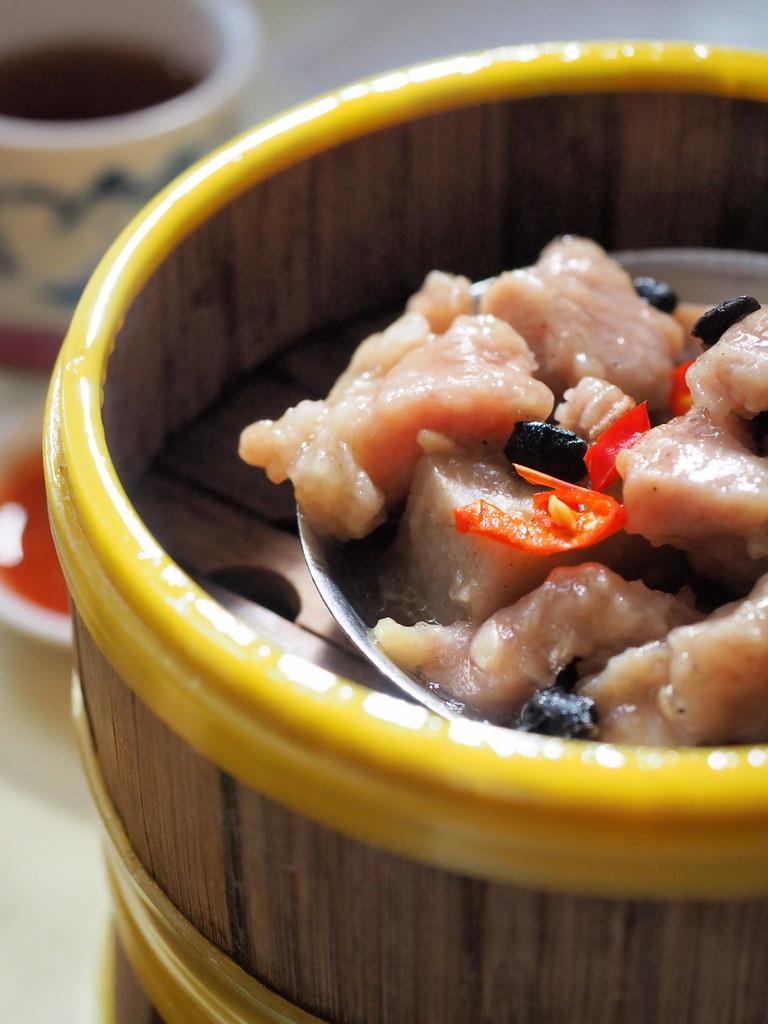 Steamed Pork Ribs in Black Bean Sauce at Foh San Dim Sum Restaurant, Ipoh