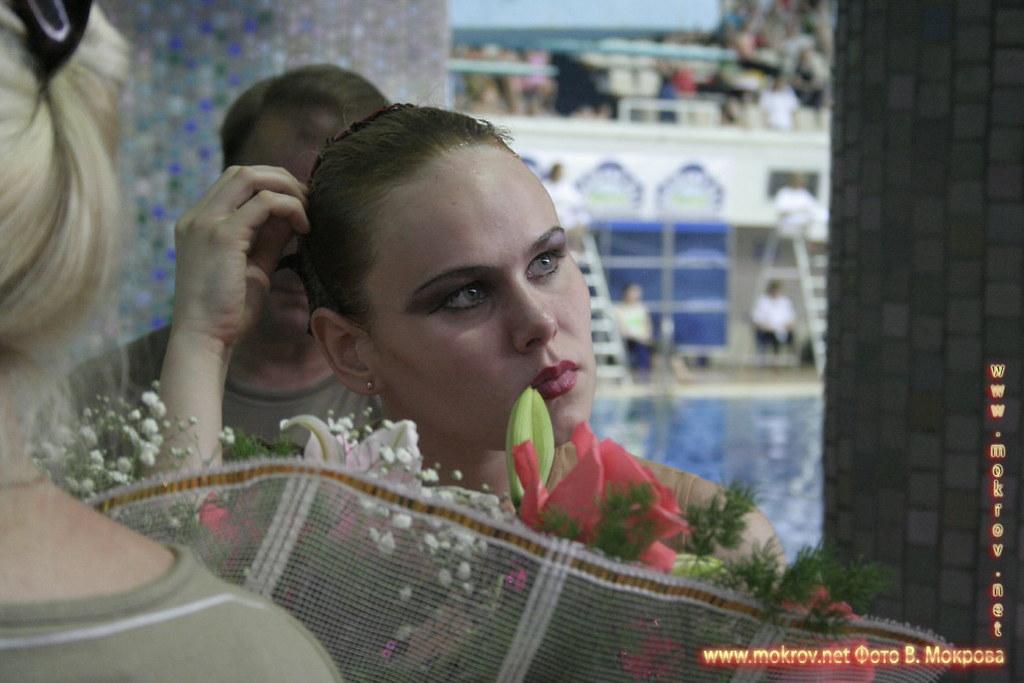 Сборная команда России по синхронному плаванию в портретах