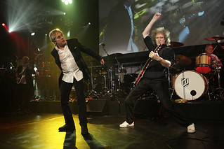 Brian May & Roger Taylor @ Battersea PS, London - 2010