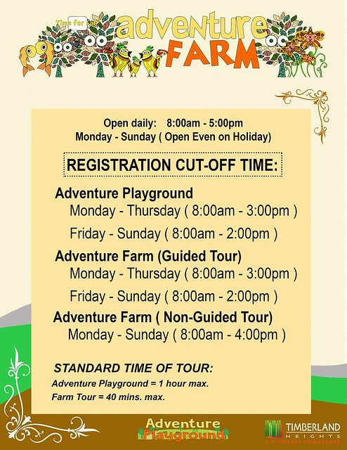 adventure farm timberland heights san mateo rizal services facilities