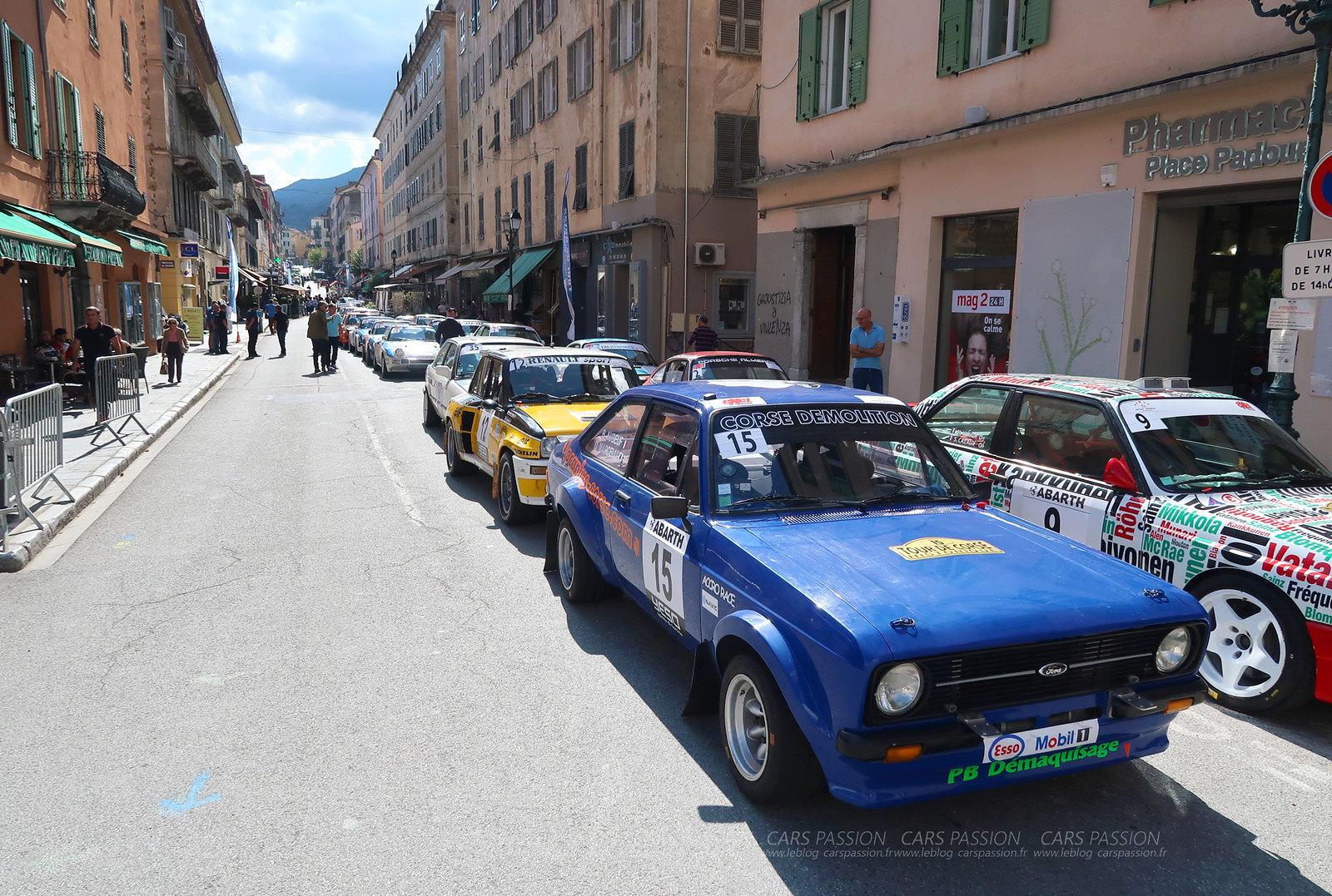 Tour de Corse Historique avec Abarth 2017