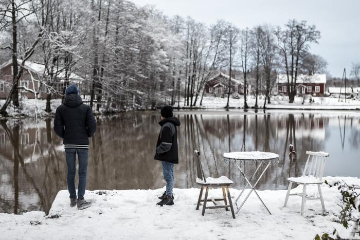 strömforsin ruukin joulu 2017 ruukki ruotsinpyhtää talvella talvi maisema_
