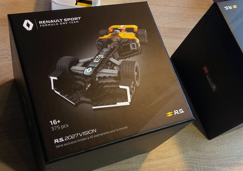 Renault 2027 Vision LCP set