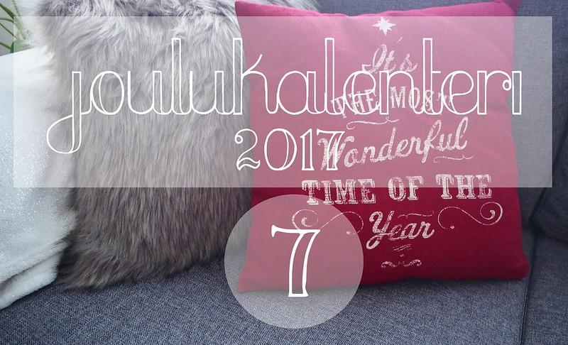 blogijoulukalenteri luukku 7