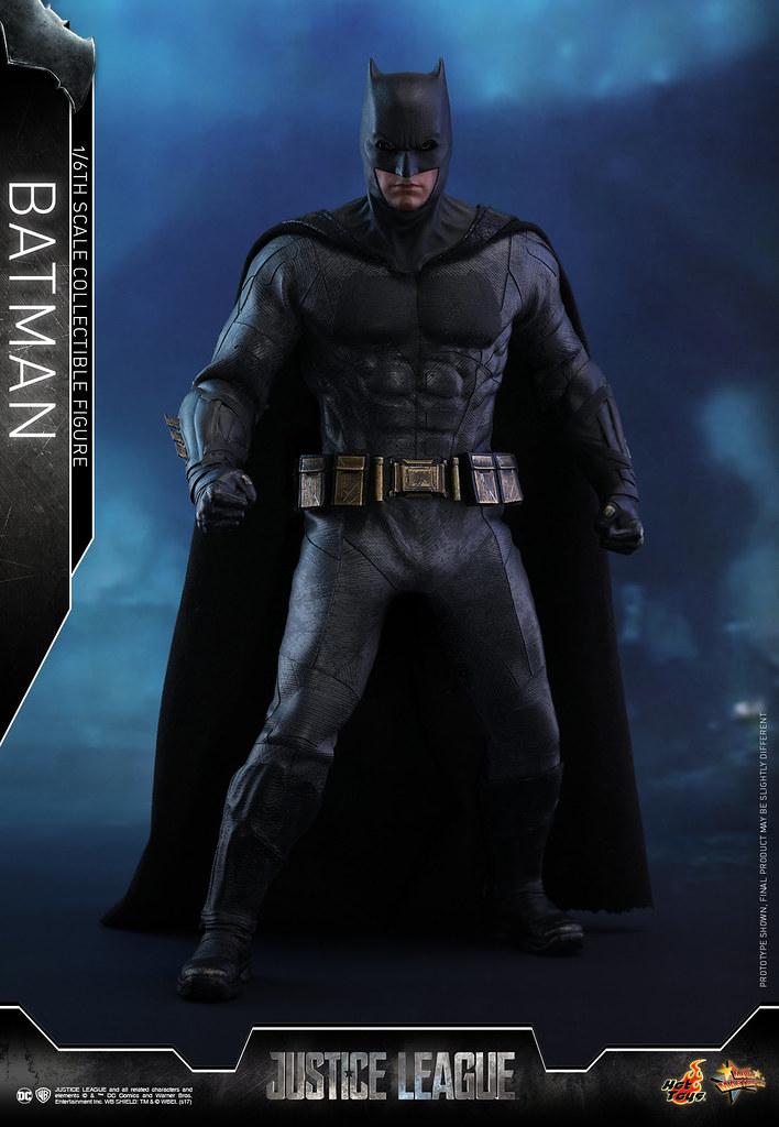 小班頭雕終於登場!Hot Toys - MMS455 - 《正義聯盟》1/6 比例蝙蝠俠 Justice League Batman