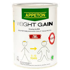 APPETON WEIGHT GAINT ANAK 900G COKLAT