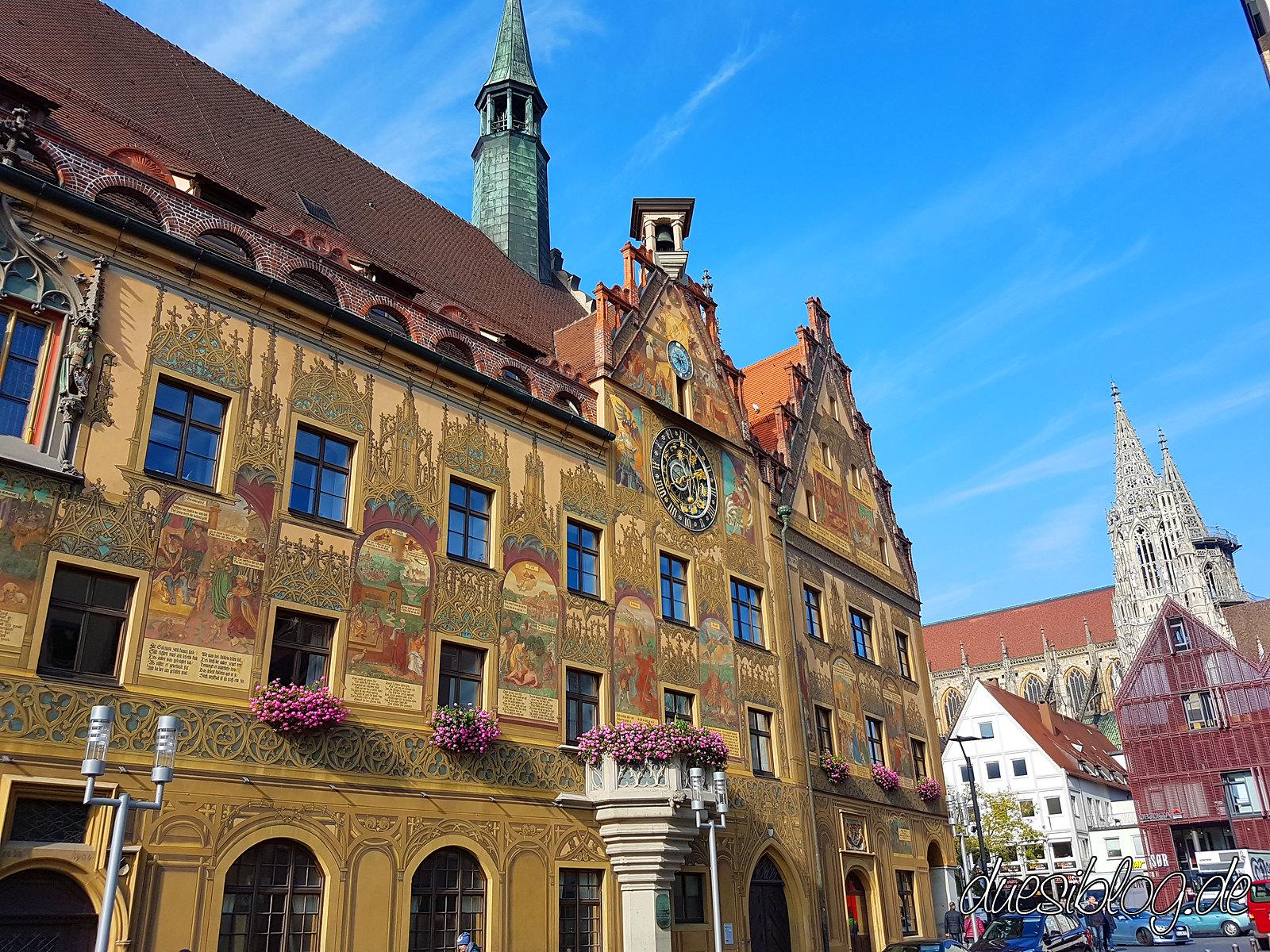 Ulm Rathaus travelblog duesiblog 04