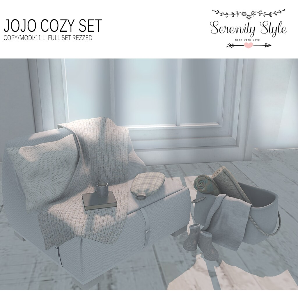 Serenity Style- Jojo Cozy Set