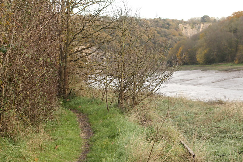 Footpath along the Portway