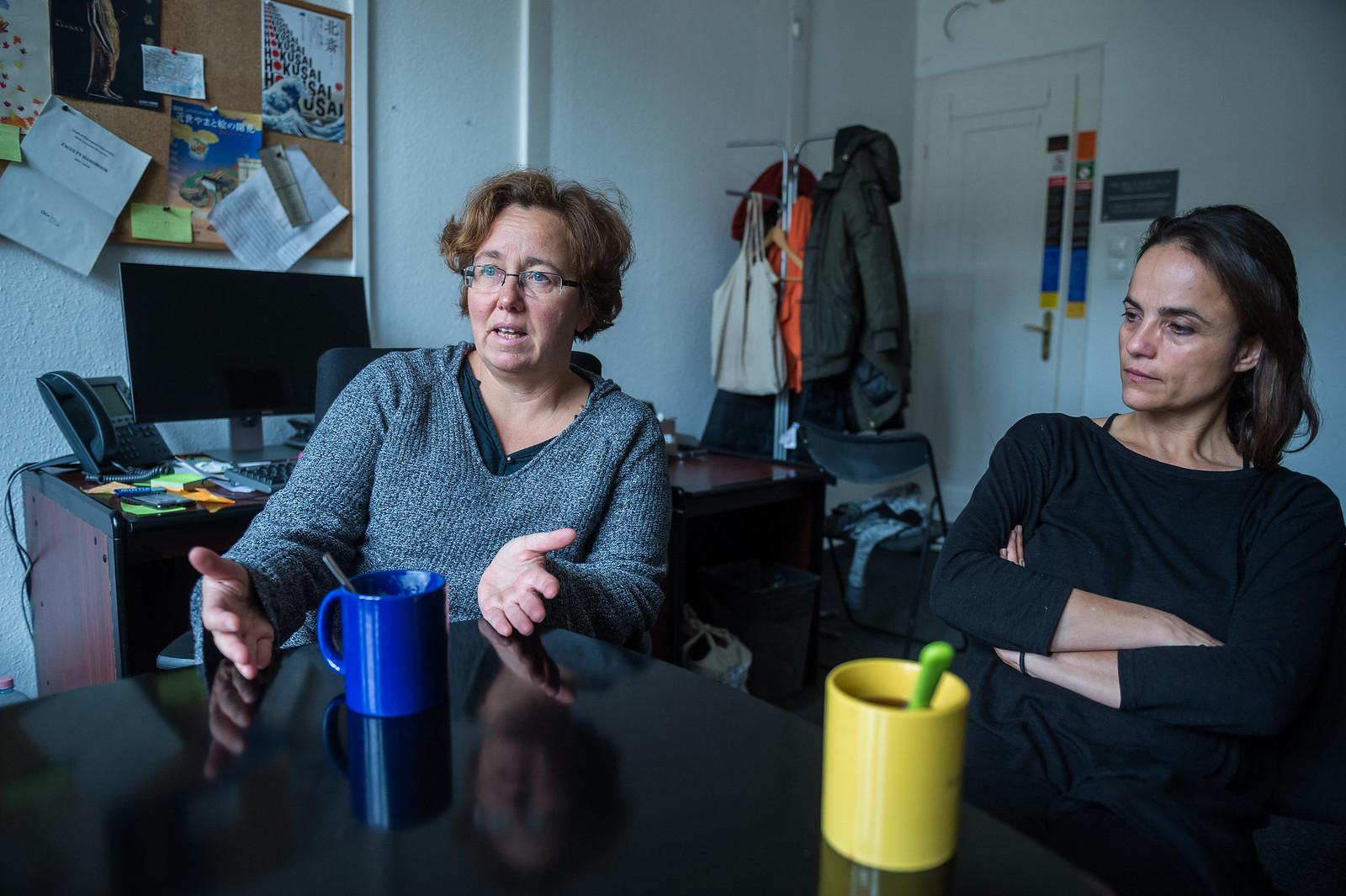 Messing Vera (balra) és Kende Ágnes (jobbra) | Fotó: Draskovics Ádám / Képszerkesztőség